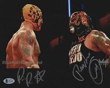 Ricochet Prince Puma Pentagon Jr Signed 8x10 Photo BAS COA Lucha Underground WWE
