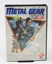 MSX2 METAL GEAR KONAMI MSX Boxed Manual FedEx Tracking Tested Working FAST SHIP