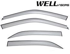 WellVisors Premium Series Side Window Visors For 96-00 Honda Civic 4Dr