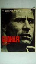 The SUNDAY TIMES Magazine 3rd September 1972 Gadhafi RARE