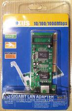 Scheda di rete PCI Gigabit LAN/SCHEDA ETHERNET: 10/100/1000bps, da plesso NUOVO CON SCATOLA