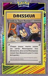🌈Et Voilà la Team Rocket ! Secret-XY12-113/108-Carte Pokemon Neuve Française