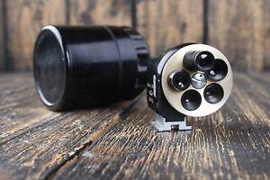 KMZ Universal Viewfinder 28-135mm Turret USSR For Leica, Zorki, Fed etc #11