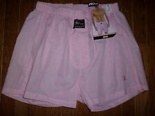 NWT MEN'S LINE L 34/38 PINK BREAST CANCER AWARENESS BOXER SHORTS UNDERWEAR