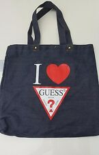 Ladies GUESS Handbag Ladies Denim Totes Women Shopping Bag
