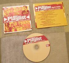 Uncut Magazine Promo CD April 2006 - Morrissey Nick Cave Flaming Lips Spirit