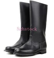 LEATHER MILITARY GERMAN ARMY LEATHER COMBAT OFFICER BOOTS IN SIZES 39-48 EUR