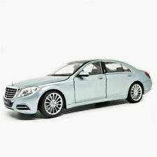 Welly 1:24 Mercedes Benz S-Class S500 Silver Diecast Model Car New in Box