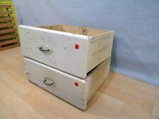 2 von 4 Schubladen Schublade Holzkiste Schubkasten shabby Vintage Verzapft alt.