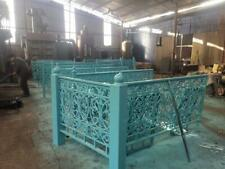 INCREDIBLE QUALITY GOTHIC HEAVY CAST IRON ESTATE RAILINGS -#FENCE45