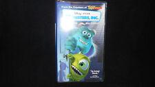 Monsters, INC. Disney Pixar VHS Clam Shell