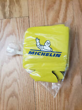 5 pack Beer Drink Koozie Michelin Man Thermal Foam Insulated Yellow Coolie Cozy