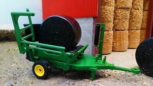 Round Bale Wrapper - 1:32 Scale Siku Farmer - 2266