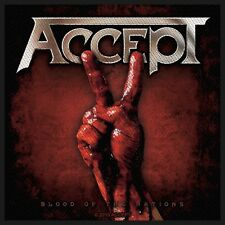 ACCEPT - Patch Aufnäher Blood of the nations 10x10cm