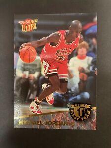 1992-93 Fleer Ultra Michael Jordan -- All NBA First Team (4 of 15)