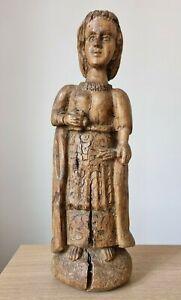 Antica Statua scultura lignea periodo ottocentesco