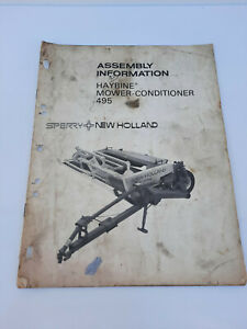 Vintage New Holland 495 Haybine Mower Conditioner Assembly Information Manual