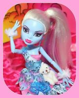 ❤️Monster High Abbey Bominable Dot Dead Gorgeous Party Doll & Outfit Shoes❤️