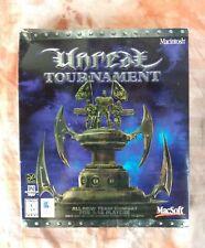 NEW SEALED Unreal Tournament Mac Big Box Computer Game 2000