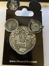 New ListingDisney Mechanical Characters Mickey Face Pin 71355 New On Original Card