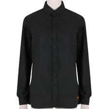 Tomas Maier Black Cotton Slim-Fitting Button Down Collar Shirt US4 UK8