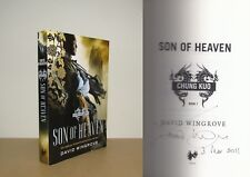 David Wingrove - Son of Heaven - (Chung Kuo) - Signed Uncorrected Proof 2011 ARC