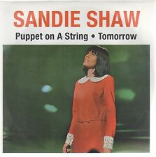 "SANDIE SHAW PUPPET ON A STRING / TOMORROW  7"" 45 GIRI"