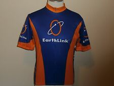 MOVEMENT SHORT SLEEVE JERSEY BLUE & ORANGE KOOLMAX 3/4 ZIPPER REGULAR MEN XL