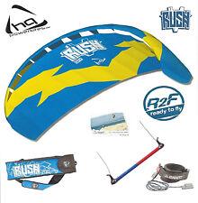 HQ Rush V 200 Trainer Power Kite Foil kitesurfing + boarding + Kite Killer + Bar