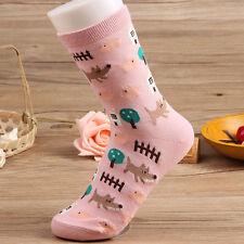 Small Animal Cotton Socks Cute Cartoon Cat Harajuku  Women Warm Kids Xmas Socks