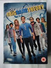 THE BIG BANG THEORY DVD COMPLETE 1 - 6 18 DISC BOX SET SHELDON PENNY GALECKI CUO