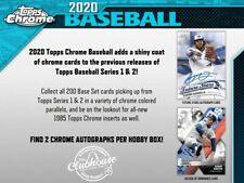2020 Topps Chrome Baseball Hobby Case Group Break #5123 - New York Yankees