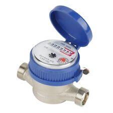 15mm 1/2 Zoll Kaltwasserzähler Wasserzähler Gartenwasserzähler Wasseruhr Garten