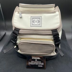Chanel ivory backpack
