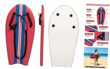 Bodyboard with Grips 37� Hand Hold Body Board Lightweight Surfboard Slick Botto