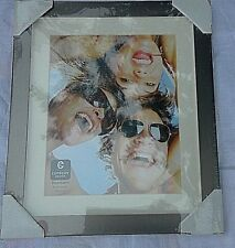 "Cupecoy Design Photoframe 8 x 10 bronze tone metal 11.5"" x 5/8"" x 13.5"""