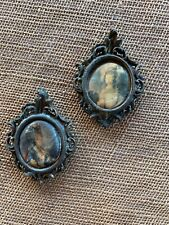 Pendants Made in Italy Pair of Vintage Cameo