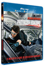 """Mission Impossible : Protocole fantome"" -Blu-Ray + DVD  NEUF SOUS BLISTER"