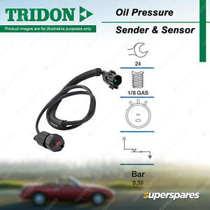 Tridon Oil Pressure Light Switch for Hyundai Terracan HP 3.5L G6CU