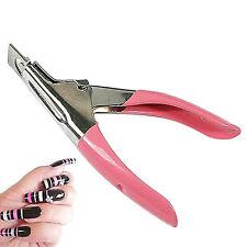 Nail Art Manicure Acrylic Gel False Tips Clipper Cutter Cutting Nail Scissors