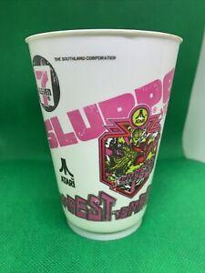Vintage 7-11 Slurpee Cup 1981 Video Game Series Retro Atari Tempest
