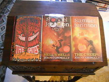 THE GATES, HELL'S BELLS, THE CREEPS, John Connolly, ALL SIGNED, 1st/1sts HCDJ