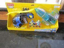 Fisher Price Imaginext DC Super Friends Batman helicopter mr. Freeze jet plane