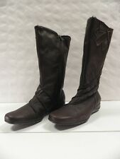 Bottes PEDI GIRL Klervie marron FEMME taille 39 boots woman leather cuir NEUF