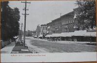 1908 NY Postcard: Main Street/Downtown-Albion, New York