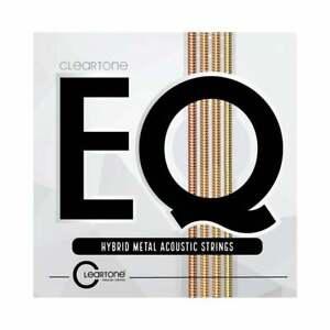Cleartone EQ Hybrid Metal 11-52 Acoustic Guitar Strings