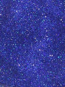 Fine Shiny Royal Blue Holographic Shimmer Nail Art Glitter Mix - 5g Bag