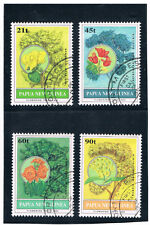 PAPUA NEW GUINEA 1992 Flowering Trees (Flora) FU