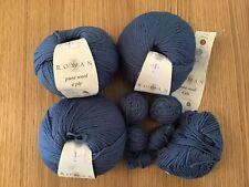 Rowan Pure Wool 4 Ply - Shade 455 Blue Iris - 4 x 50g