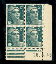 Timbres français neufs de 1941 à 1950 verts
